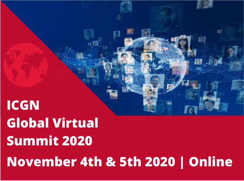 Fact or Fiction: Governance of Information and Big Tech – ICGN Global Summit 2020