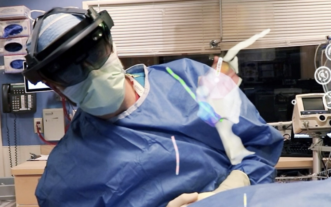 How a Hologram Can Show a Patient's Heart During Surgery