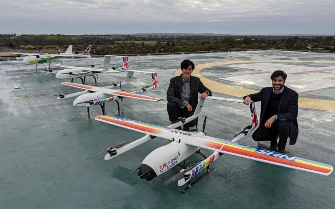 NHS Using Drones to Deliver Coronavirus Kit Between Hospitals